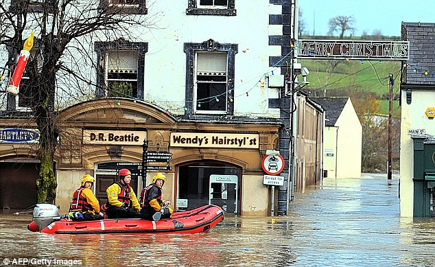 Cumbria floods 11 people missing including police officer