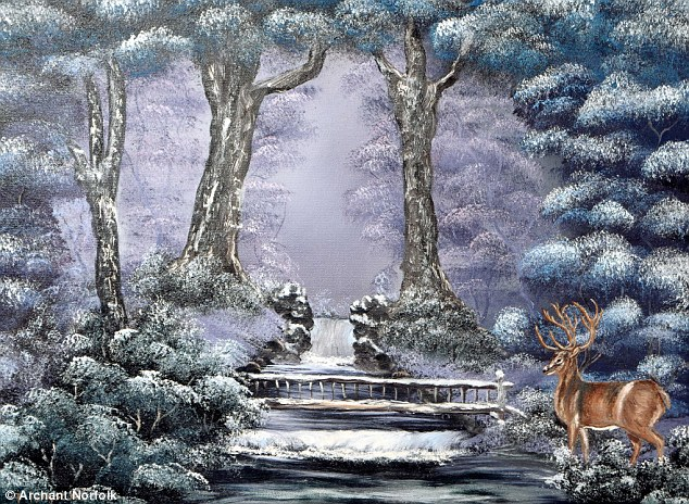 The Amazing Christmas Card Images Painted By Armless