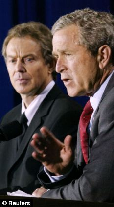 Blair and Bush in April 2002