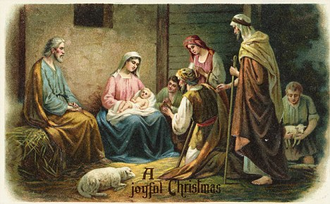 Joy To The World The Religious Christmas Card Is Back