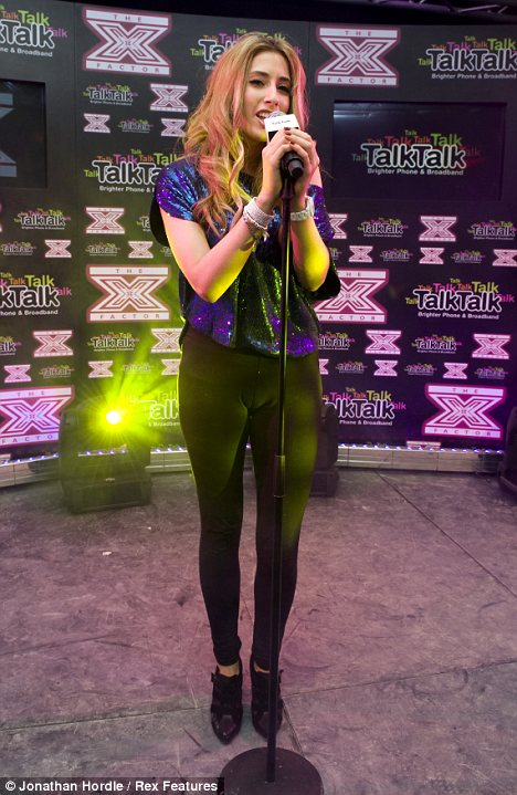 X Factors Stacey Solomon left bruised after falling TWICE