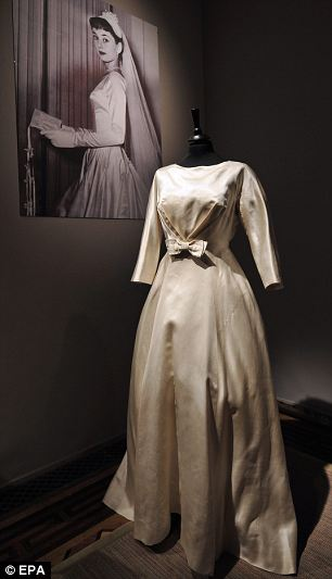 Audrey Hepburns Givenchy couture collection sold at auction for 270000  Daily Mail Online