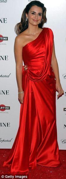 Penelope Cruz at premiere