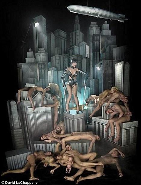 Metropolis: Lady Gaga pays homage to the classic sci-fi film