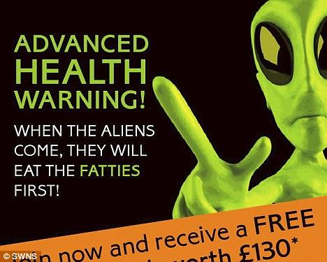os aliens vão comer os gordos primeiro
