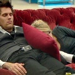 Sofa Bed Reduced Grey Chenille Set Celebrity Big Brother: Katia Cosies Up To Jonas Again In ...