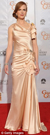 Nicole Kidman poses in the press room at the 67th Annual Golden Globe Awards