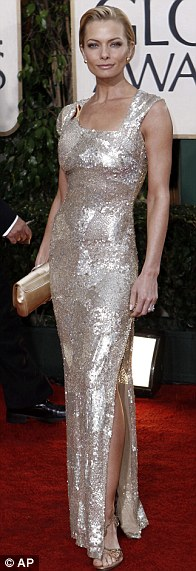 Jaime Pressly arrives at the 67th Annual Golden Globe Awards
