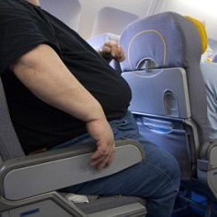 Baby Chairs For Eating Cheap Burlap Chair Sashes Air France To Charge Obese Passengers 'fat Tax' From April 1st | Daily Mail Online