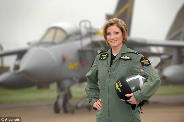 Shock and awe Female RAF Top Gun pilot tells how she beat the Taliban with deafening noise