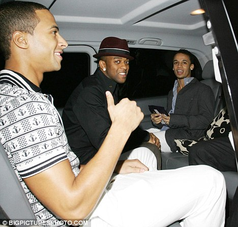 Popstars The Rivals Sugababes Party With The Saturdays For JLS Birthday Bash Daily Mail Online
