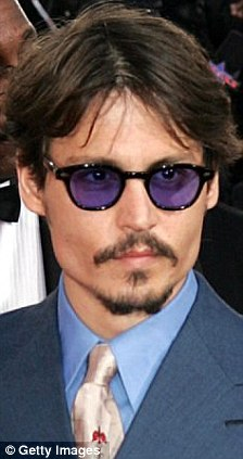 Unlikely turn-ons: Women secretly prefer men who wear glasses like Johnny Depp (left) or with geeky personalities like Spider-Man star Tobey Maguire