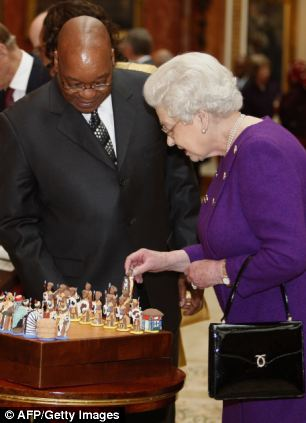 4 way chess online 2002 bmw e46 radio wiring diagram the day polygamist president jacob zuma dined with 'old fashioned imperialists' | daily mail ...