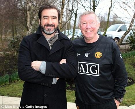 Alex fergusonjason fergusonéric cantonaryan giggsdarren ferguson. Manchester United Dugout: Eric Cantona reunites with Sir ...