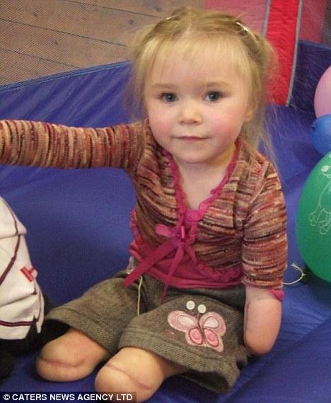 Olivia Story aged three
