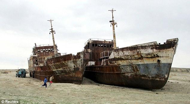 Laut Aral Mengering Karena Pemanasan Global