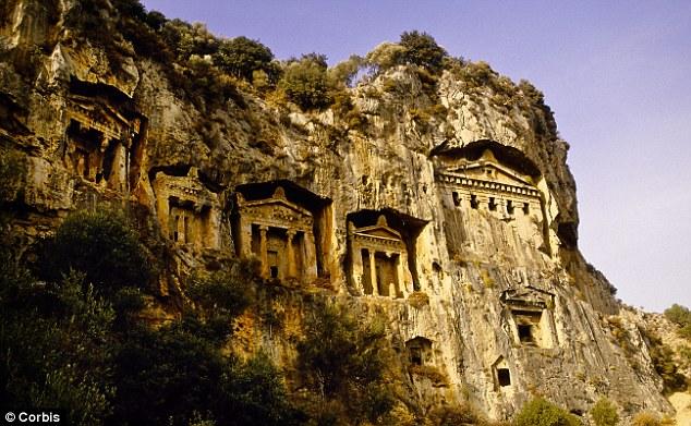 Turkeys Dalyan Delta From Iztuzu beach to Lycian tombs