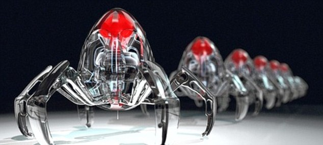 Robots of the future could operate at the nano-scale level