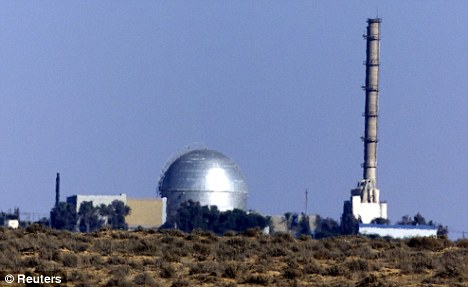 Ambiguity: The Israeli atomic reactor in the Negev Desert outside Dimona