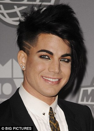 Adam Lambert debuts new shaved haircut at MuchMusic Awards in Toronto  Daily Mail Online