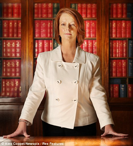 Julia Gillard, Australia's new PM
