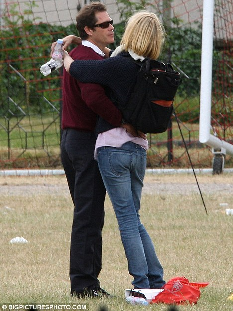 Uma Thurman Spends A Day In The Park With Boyfriend Arpad