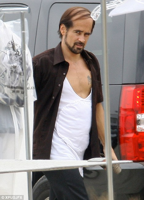 Colin Farrell Is Letting Himself Go He Debuts A Comb
