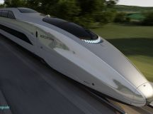 The first look inside futuristic high speed train ...