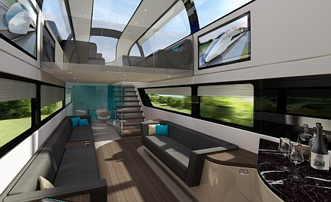 china sofas online chesterfield corner sofa london the first look inside futuristic high speed train ...