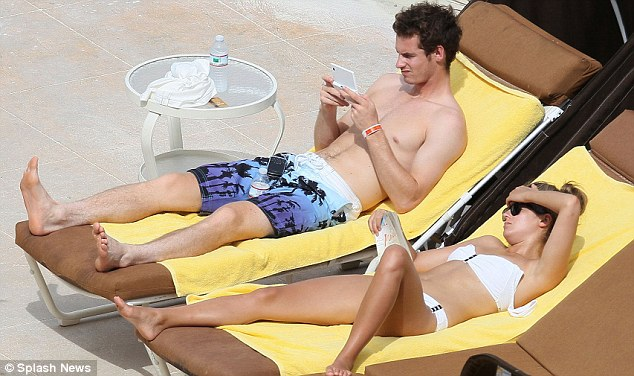 Andy Murray holiday