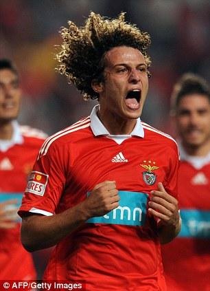Högt betyg: Benficas David Luiz
