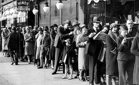 End of the line: The British are no longer happy to join the queue