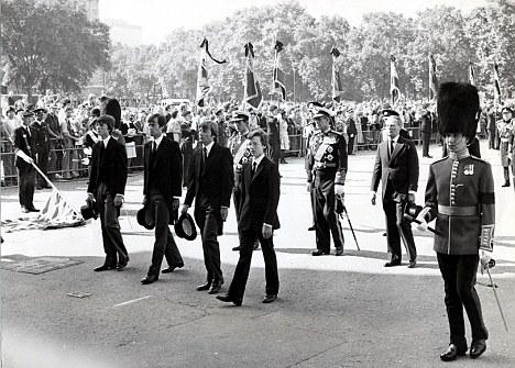 Lord Mountbatten's funeral