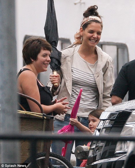 Katie Holmes Cruises with Toms adopted daughter Bella and
