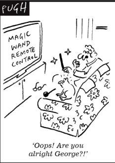 Dragons' Den panel's bidding war for 'Magic Wand' that