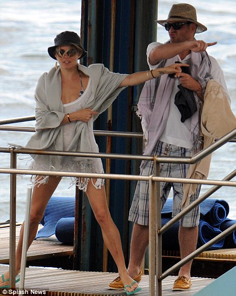 Balthazar & Rosetta Getty may be reconciling while Sienna Miller's away