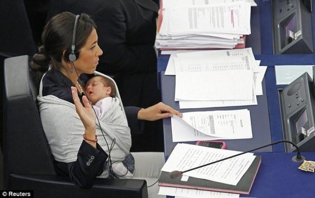 Licia Ronzulli mit Tochter Victoria