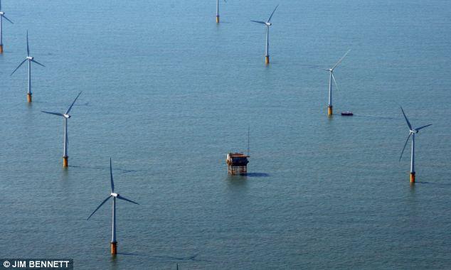 Wind farm at Kent