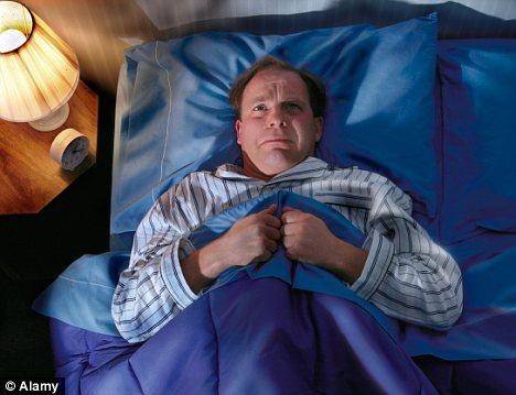 Sleep deprived Work worries keep threequarters of