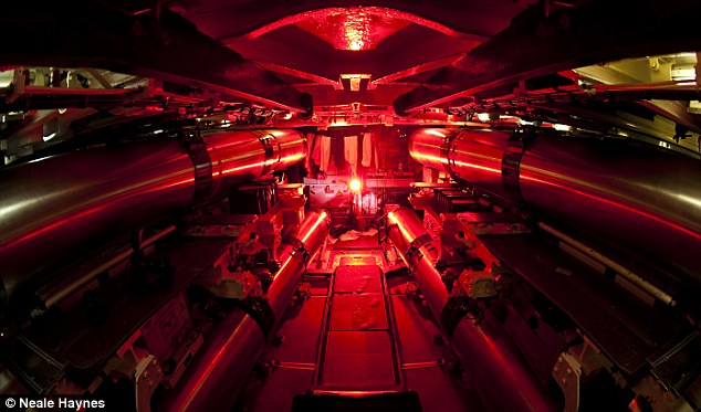 HMS Talent's weapons stowage compartment