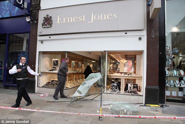Ernest Jones Rolex Heist