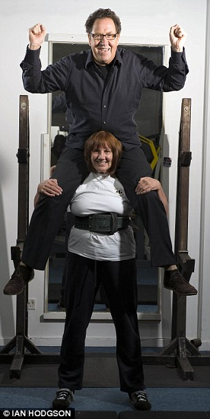 Meet Sue Hollands  woman of steel and Britains