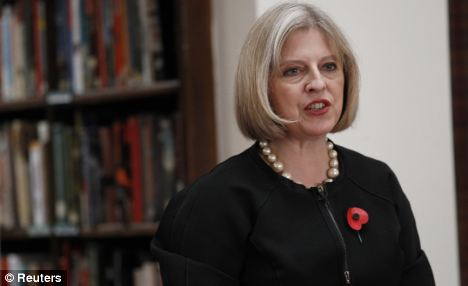 New development: Home Secretary Theresa May recently announced a review of the Extradition Act