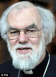 Archbishop of Canterbury Dr Rowan Williams called the Government's benefit cuts immoral