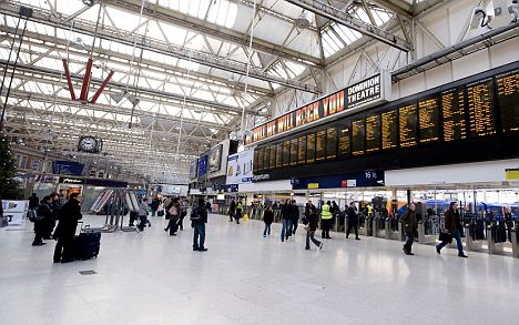 Image result for Waterloo station