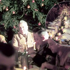 Wheelchair Killer Rocking Chair Design Jimi Hitler's Christmas Party: Rare Photographs Capture Leading Nazis Celebrating In 1941 | Daily ...