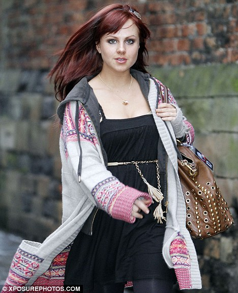 Tina OBrien Is Latest Celebrity To Try Flame Haired Look