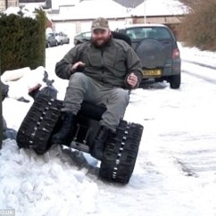 Tank Chair Wheelchair Used Dinning Chairs Disabled Man Banned From Using Off Road Which By Cruise Control The Allows Jim Dorchester Dorset To Travel