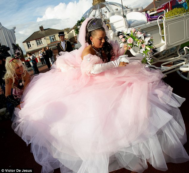 My Big Fat Gypsy Wedding We reveal the 140000 cost  Daily Mail Online