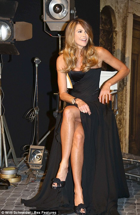 Elle Macpherson lends a hand to glam up Swiss watch launch